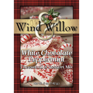 Wind & Willow White Chocolate Peppermint Cheeseball mix