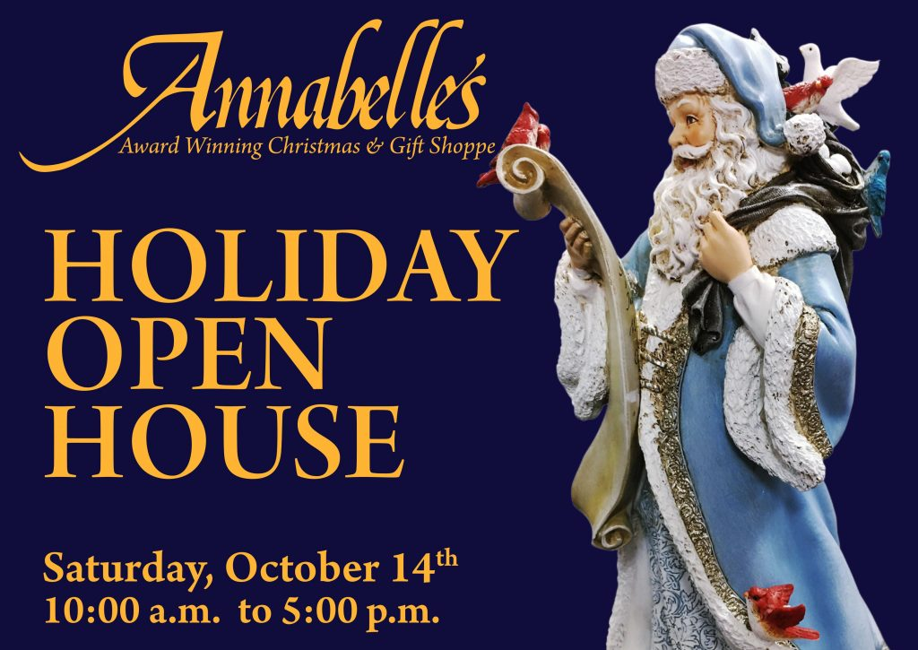 Annabelle's Open House Invitation Postcard Front