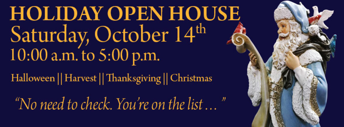 ANNABELLE'S HOLIDAY OPEN HOUSE!