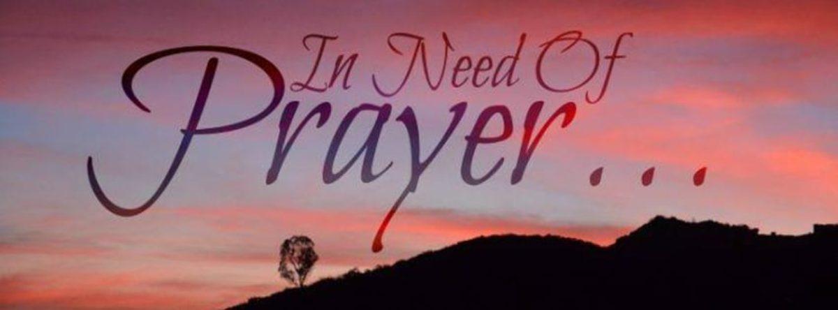 A Call for Prayers
