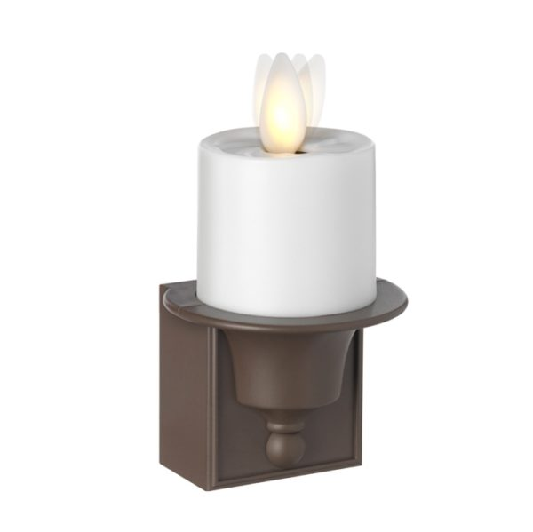 Liown Moving Flame Night Light Plug In