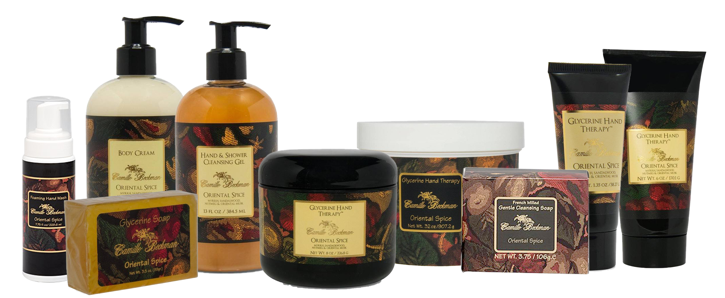 Oriental Spice Product Lines
