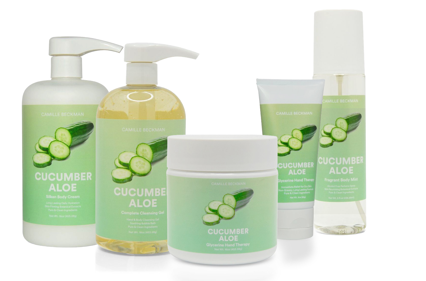 Cucuumber Aloe Products