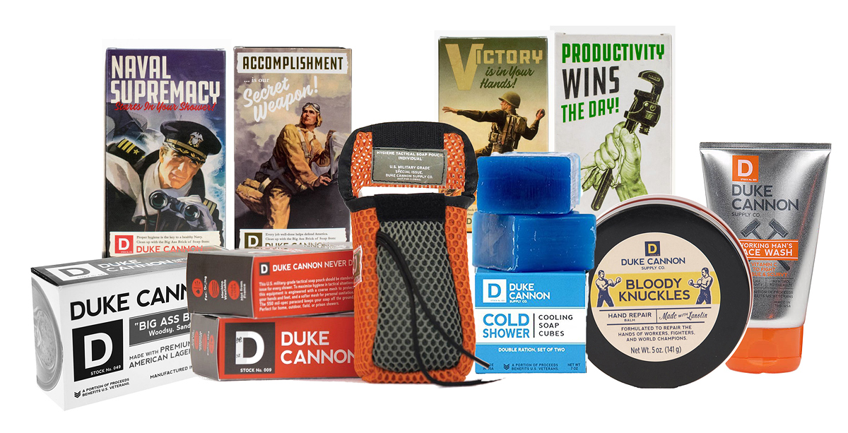 Duke Cannon Gifts for Manly Men