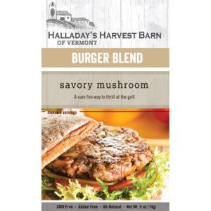 Savory Mushroom Burger Seasoning