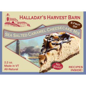 Sea Salted Caramel Cheesecake Mix