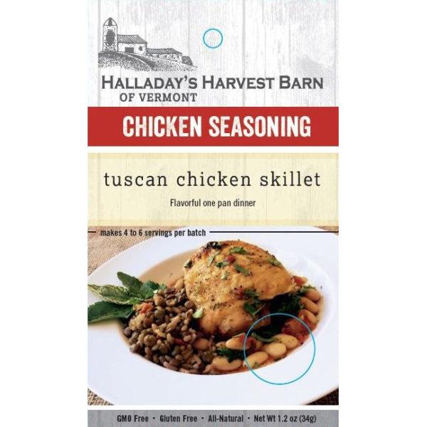 Tuscan Chicken Skillet Seasoning