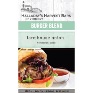 Farmhouse Onion Burger Seasoning