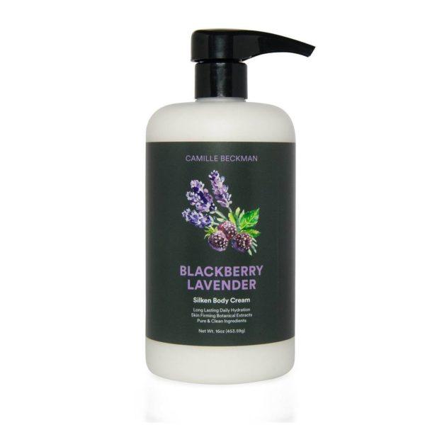 Blackberry Lavender Silky Body Cream 16oz